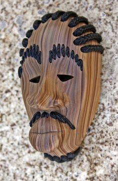 clays, cornrows, art project, tribal mask, clay mask, facials, polymer clay, hair, ludacri tribal