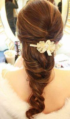 Lovely tamed curls