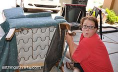 decor, furnitur makeov, craft, upholsteri, furnitur redo, diy project, chair upholstery, wingback chairs, diet coke