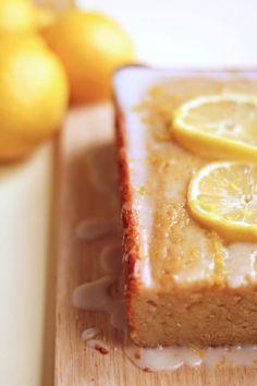 Lemon Loaf Cake {healthy too} from @Jocelyn (Grandbaby Cakes & HighArt)