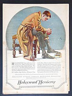 Holeproof Hosiery Ad