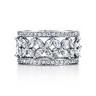 Tiffany & Co. | Item | Victoria band ring with diamonds in platinum. | United States