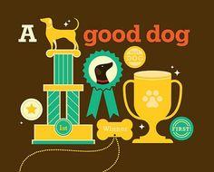 dog illustr, dog logo