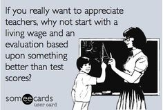 Here's a way to appreciate teachers...