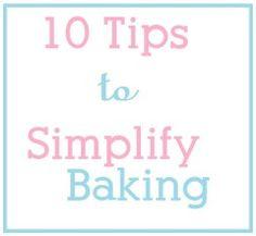 simplify baking