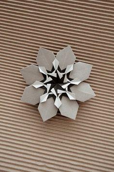 Mandala de Origami - Falk Brito. (Variação Mandala Macuxi + Mandala Mucajá)