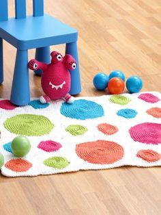 Rug | Yarn | Free Knitting Patterns | Crochet Patterns | Yarnspirations