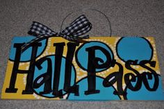 Direct link to Hall Pass DIY