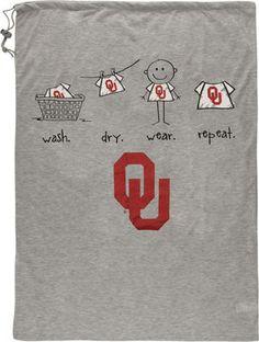 Oklahoma Sooners Laundry Bag