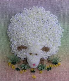sheepy punch needle