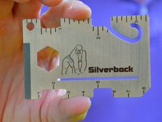 Instead of digging through your tool box and garage to find a single-use tool, reach into your pocket and solve the problem with the Silverback Multi-Tool Wallet. getdatgadget.com/silverback-multi-tool-wallet-gorilla-tool/