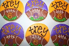 cake cookies, birthday parties, parti blog, birthdays, sport, footbal parti, footbal cooki, graduat idea, birthday kids