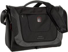 Tumi T-Tech Presidio Cook Laptop Messenger,Black,one size  $156.00