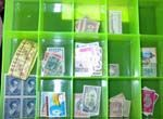 Sorting lots of postage stamps - advice from a stamp collector