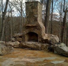 rustic! Need this outside of a log home