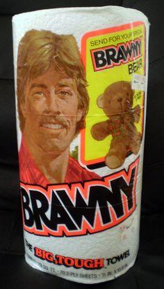 Brawny paper towels (1985)