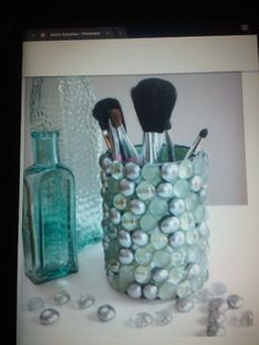 u can also do this with old formula cans :)