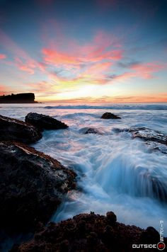 Sunrise, Avalon Beach, Sydney, NSW, Australia