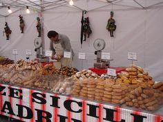 Sicily open-air bakery