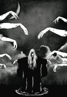 """Witchcraft"" Art Print by Merwizaur on Society6."