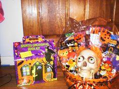Halloween Raffle basket