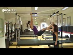 Cadillac demo at Pilates studio at Central YMCA - YouTube