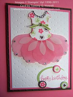 Stampin' Up! - Itty Bitty Bits card♥