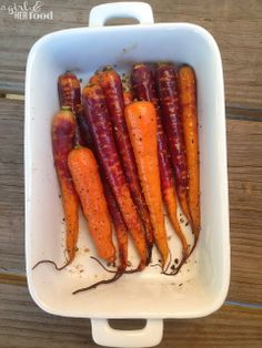 Roasted Carrots  http://www.agirlandherfood.com/2013/12/roasted-carrots.html