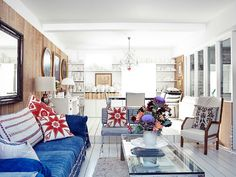 ELLE DECO December 2013: AT HOME WITH