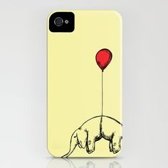 Red Elephant iPhone Case by Dicom - $35.00