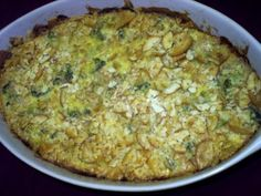 Broccoli Casserole with Cheese ** Low Carb/ Low Fat Recipe
