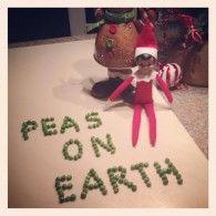 pea, christma elf