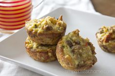 """Easy Breakfast Egg & Sausage """"Muffins"""" - Yellow Bliss Road"""
