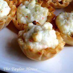 Crab and Cream Cheese Bites