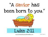 Christmas Bible Verse for Kids