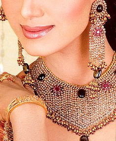 accessori, indian bride, earring