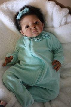 INCREDABABIES REBORN BABY GIRL AA ETHNIC BIRACIAL DOLL