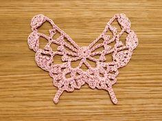 Crochet a little - butterfly motif chart
