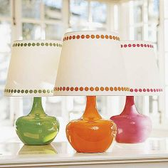 How can I resist Colorful Lamp in green?!  #DreamDormRoom #GarnetHill #LillyPulitzer