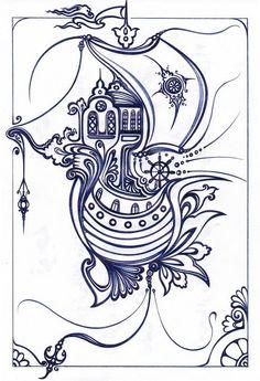 color, ship, print