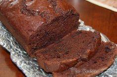 Double Chocolate Banana Bread - http://www.pindandy.com/pin/323/