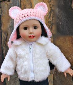 Get Winter Essentials for 18 inch doll and American Girl Dolls at www.harmonyclubdolls.com