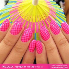 Summer Sizzle by Incoco by IncocoProducts - Nail Art Gallery nailartgallery.nailsmag.com by Nails Magazine www.nailsmag.com #nailart