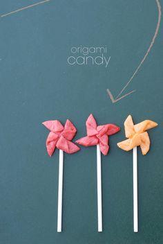 edible pinwheels! Made from starburst candies