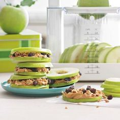 Apple Sandwiches from Williams-Sonoma #vegan
