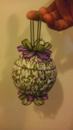 handsmocked ornament