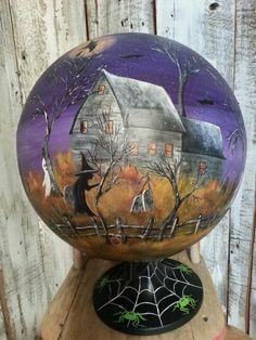 Hp Halloween world globe.