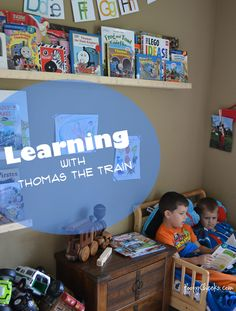 Learning with Thomas the Train
