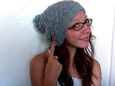 Braided Beanie - knit pattern from Sans Limites Crochet