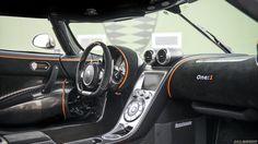 Koenigsegg One:1 dashboard